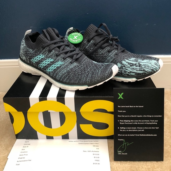 size 40 6ad8a 21662 Adidas Adizero Prime Boost Parley Carbon